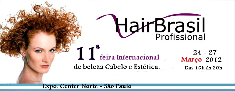 É a 11ª feira Internacional de Beleza cabelo e estética.