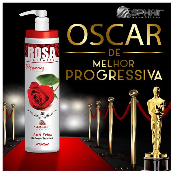 escova progressiva Rosa Perfeita