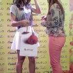 Rosa Perfeita-SP Hair Cosméticos no evento com Camila Coelho