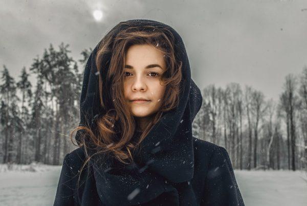 cabelo no inverno